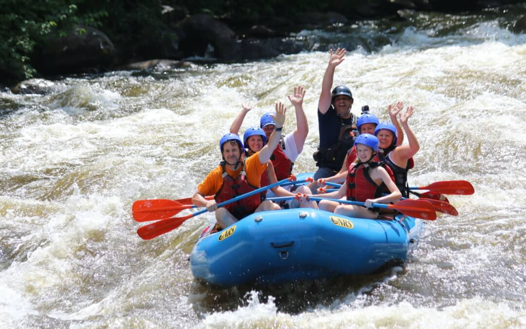 Fall Is The Perfect Season For Family Rafting Near Gatlinburg, TN
